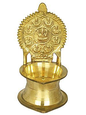 Ashtavinayaka Puja Lamp