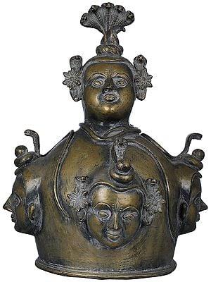Shiva Linga Sheath - Tribal Statue