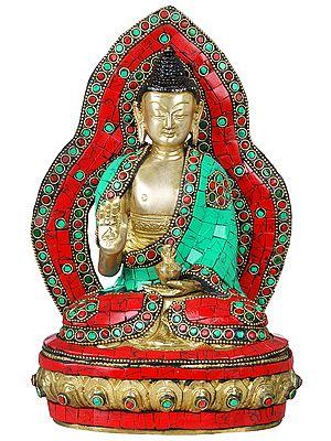 Preaching Buddha - Tibetan Buddhist