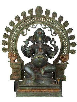 Chaturbhuja Ekadanta Ganesha