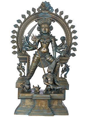 Superfine Mahishasura-Mardini Goddess Durga