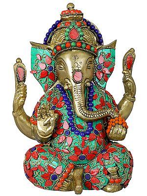 Inlay Murti of Shri Ganesha