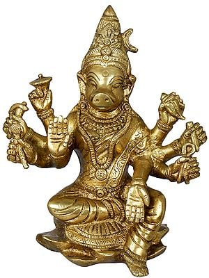 Eight Armed Goddess Varahi