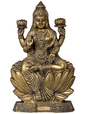 Kamalasana Ashirwad Lakshmi (Table Piece)