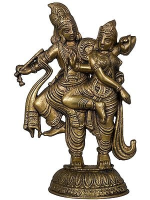 Dancing Radha Krishna (Table Piece)