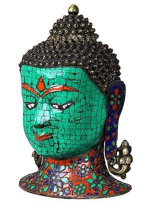 Lord Buddha Head - Tibetan Buddhist