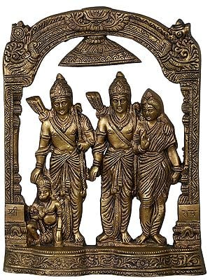 Rama Durbar Table Piece Flat Statue
