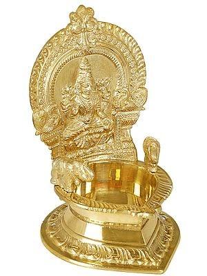Large Sized Diya of Goddess Lakshmi