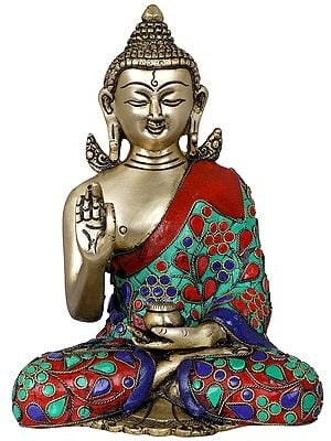 Seated Lord Buddha - Tibetan Buddhist