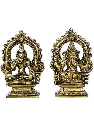 Small Lakshmi Ganesha