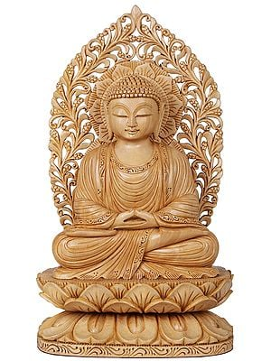Lord Buddha in Dhyana (Meditation) - Tibetan Buddhist