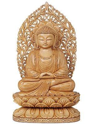 Lord Buddha in Dhyana (Meditation) - Tibetan Buddhist