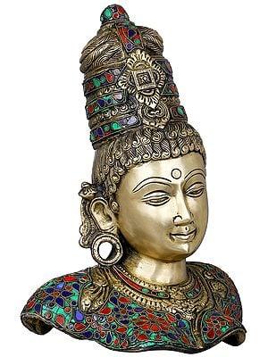 Devi Parvati Bust