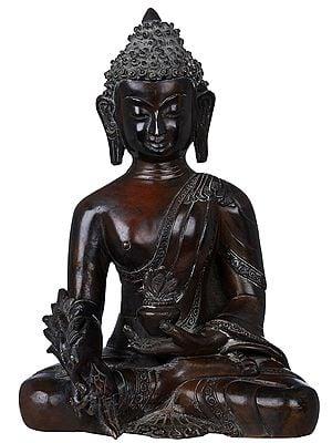 Tibetan Buddhist Deity Medicine Buddha (Made in Nepal)