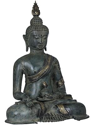 Buddha in Varadamudra - Tibetan Buddhist