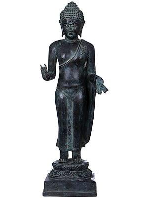 Tibetan Buddhist Deity Standing Buddha