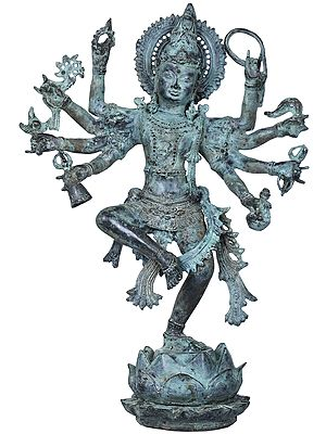 Bhagawan Shiva Dancing on Lotus