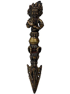 Made in Nepal Mahakala Phurpa - Tibetan Buddhist