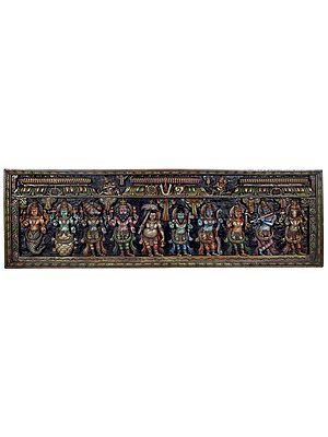 Dashavatara - Ten Incarnations of Lord Vishnu