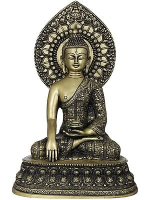 Lord Buddha Seated on Double Lotus