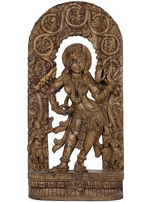 Khajuraho Series - I (Large Size Apsara with Mirror)