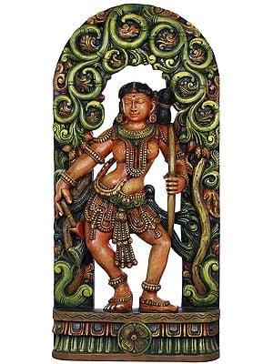 Khajuraho Series- VIII (The Archer)