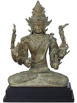 Six Armed Mahadeva Shiva