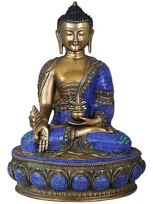 Tibetan Buddhist Lapis Buddha of Healing