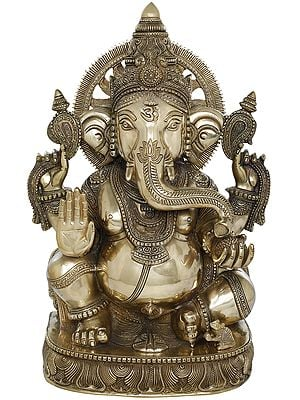 Superfine Blessing Surya Ganesha