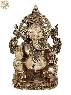 Superfine Blessing Surya Ganesha
