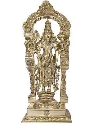 Bhagawan Vishnu on Prabhawali Pedestal