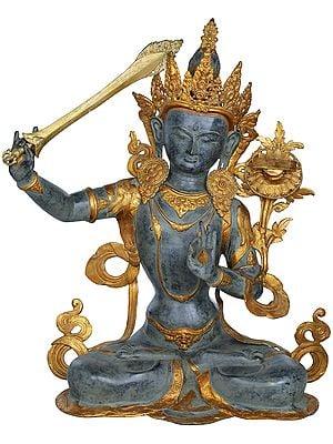 Large Size Manjushri - Bodhisattva of Transcendent Wisdom (Tibetan Buddhist Deity)