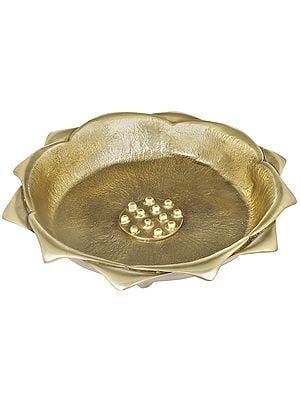 Lotus Urli-cum-Fruit Bowl