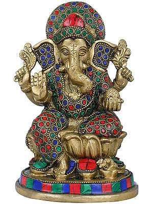 Inlayed Shri Ganesha
