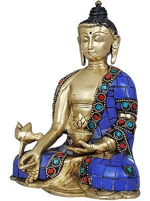 Tibetan Buddhist Lapis Budddha of Healing