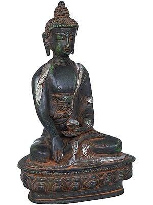 Buddha in Mara Vijaya Mudra (Bhumisparsha) Tibetan Buddhist