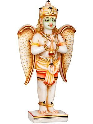 Standing Garuda in Namaskaram Mudra