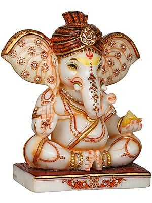 Royal Turbaned Ganesha