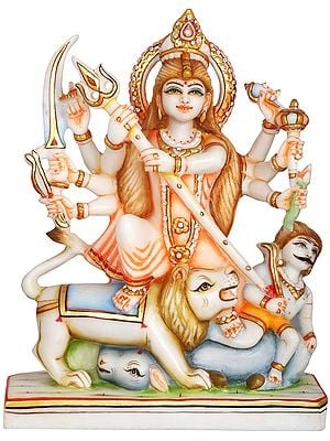 Goddess Durga as Mahishasura Mardini