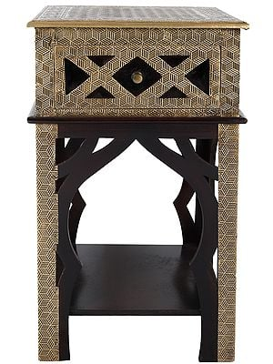 Decorated Side Table