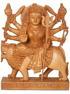 The Singular Chhavi Of Devi Durga
