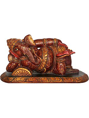 Colorfully Decorated Relaxing Ganesha