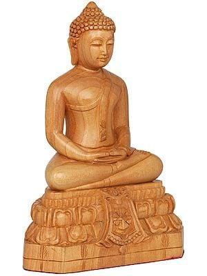 Golden Monotone Buddha