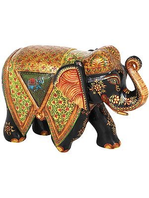 Marvellously Decorated Royal Elephant