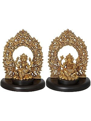 Two Most Auspicious Deities - Shree Lakshmi and Shri Ganesha