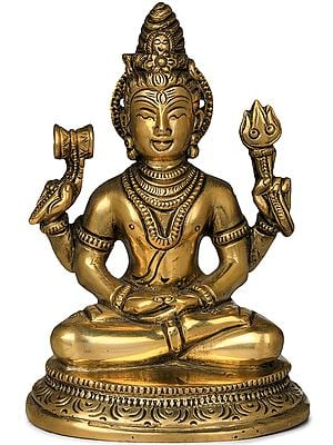 Four Armed Meditating Lord Shiva