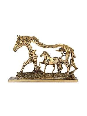 Stylized Horse under Horse