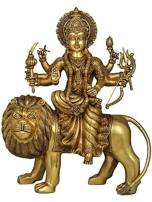 Finely Crafted Goddess Durga