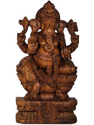 Ganesha Blessing His Devotees