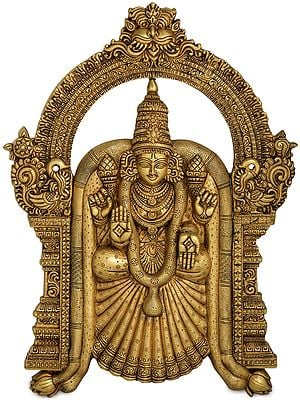 Goddess Meenakshi (Beautiful Wall Hanging)